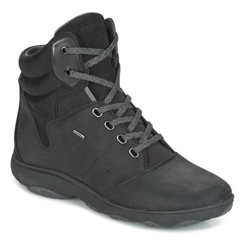 Geox D NEBULA 4 X 4 B ABX Noir - Livraison Gratuite avec  - Chaussures Basket montante Femme