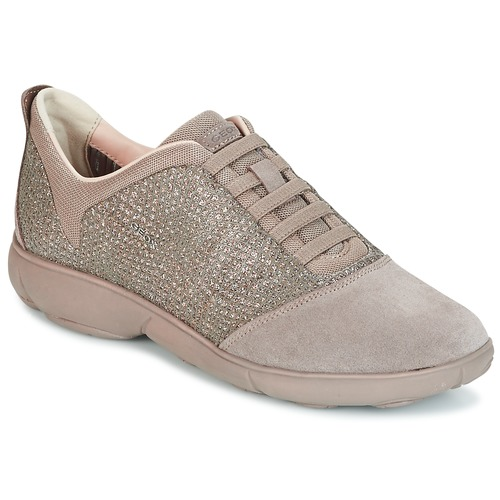 Chaussures Femme Baskets basses Geox D NEBULA Taupe