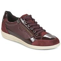 Chaussures Femme Baskets basses Geox D MYRIA Bordeaux