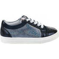Chaussures Fille Baskets mode Acebo's Baskets fille -  - Bleu marine - 9466ST - Millim BLEU