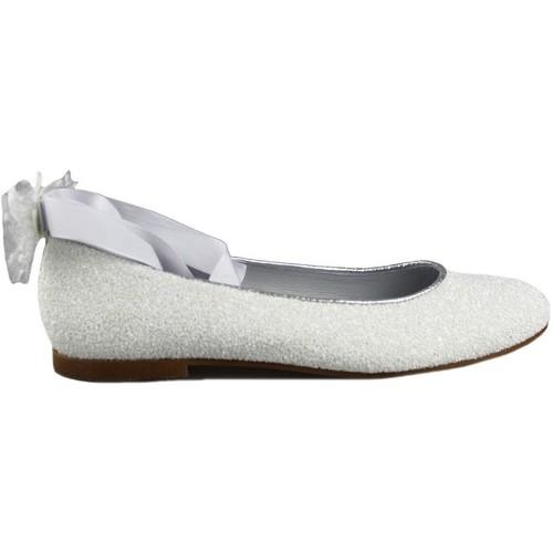 Chaussures Fille Ballerines / babies Oca Loca OCA LOCA COMUNION CINTAS BLANC