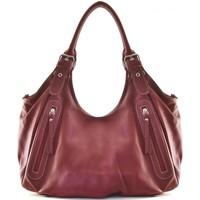 Sacs Femme Sacs porté épaule Oh My Bag Sac à Main CUIR femme - Modèle St trop' rouge clair ROUGE CLAIR