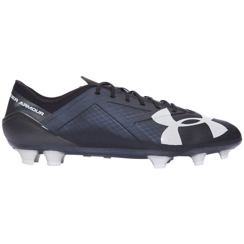Chaussures Homme Football Under Armour Spotlight FG Schwarz