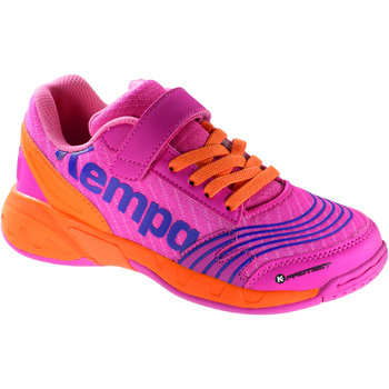 Chaussures Enfant Multisport Kempa Chaussures Velcro Junior  Attack-28 rose/orange