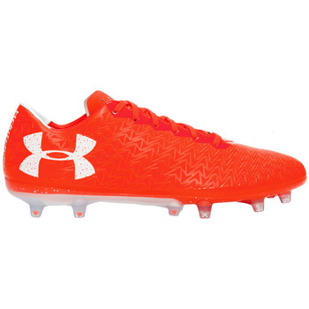 Chaussures Homme Football Under Armour ClutchFit Force 3.0 FG Orange