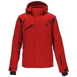 Vêtements Homme Coupes vent Spyder Veste De Ski  Garmisch Red Black Rouge
