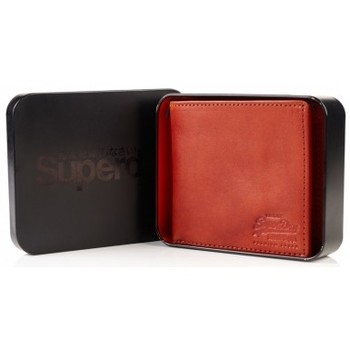 Sacs Homme Portefeuilles Superdry Portefeuille  Wallet In A Tin Juicy Tan Marron