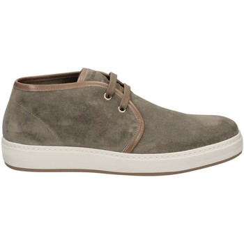 Chaussures Homme Baskets basses Frau SUEDE Gris