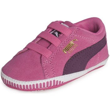 Chaussures Fille Baskets basses Puma Suede Crib Rose