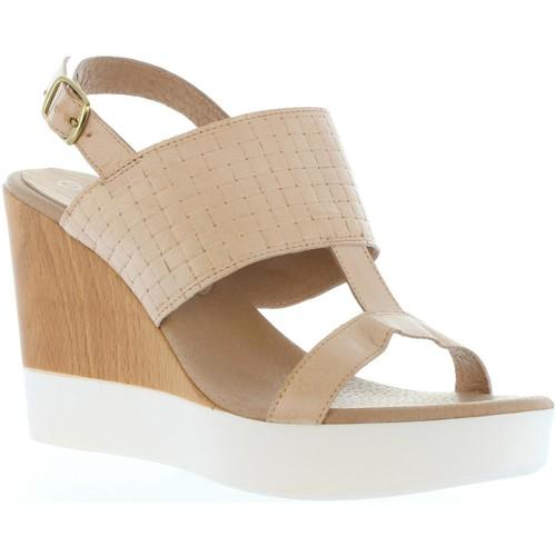 Chaussures Femme Sandales et Nu-pieds Vaquetillas 20143 Beige