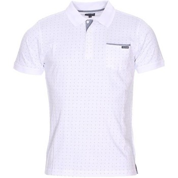 Vêtements Homme Polos manches courtes The Fresh Brand - polo BLANC