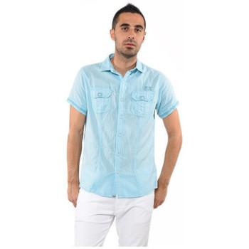 Vêtements Homme Chemises manches courtes Kaporal Chemise  GOOD Sky Blue 19