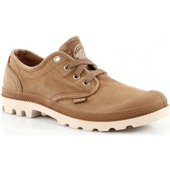 Chaussures Homme Baskets basses Palladium Pampa Oxford Marron