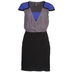 Vêtements Femme Robes courtes Naf Naf LYFAN Noir / Gris / Bleu