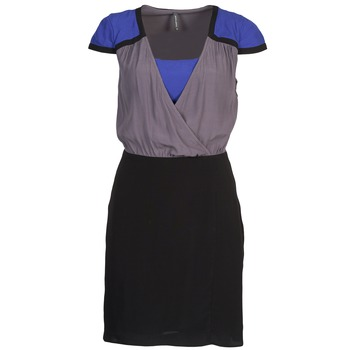 Robes Naf Naf LYFAN Noir / Gris / Bleu 350x350