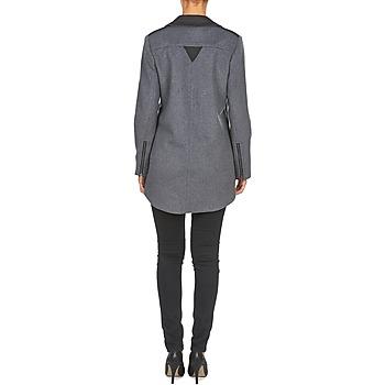 Arno Manteaux Femme Vêtements Naf GrisNoir ulFJTK1c3