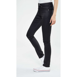 Vêtements Homme Jeans slim Cheap Monday Jeans Enduit  Tight Slim Noir Femme Noir