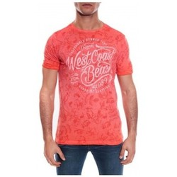 Vêtements Homme T-shirts & Polos Ritchie T-SHIRT MANADO Rouge clair