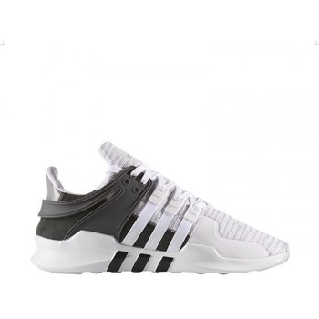 Chaussures adidas equipment support adv blanc chez Spartoo