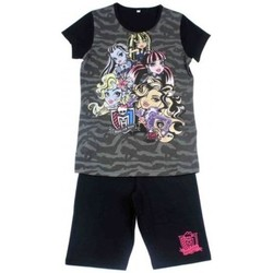 Vêtements Enfant Ensembles enfant Monster High Ensemble short et T-shirt Noir