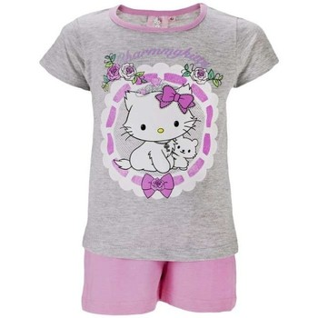 Vêtements Enfant Pyjamas / Chemises de nuit Charmmy Kitty Pyjashort Gris