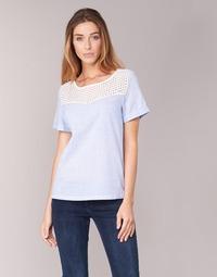 Vêtements Femme Tops / Blouses Betty London GERMA Blanc / Bleu