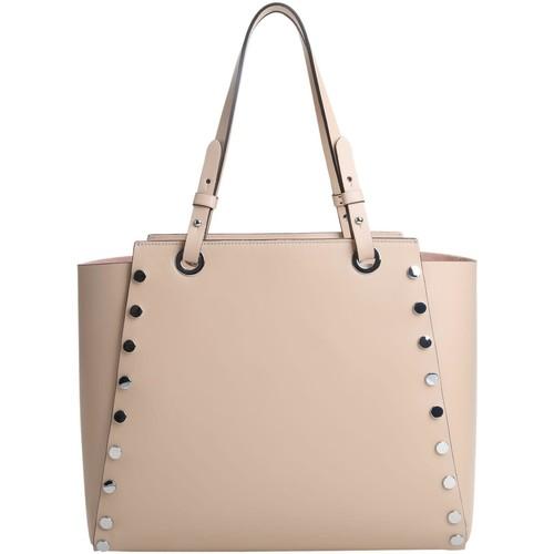 Sacs Femme Cabas / Sacs shopping Kesslord TICTACTOE MAGIC_MV_NT Beige