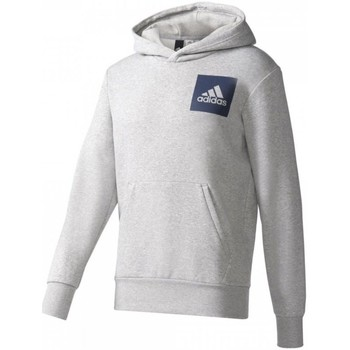 Vêtements Homme Pulls adidas Originals Essentials Chest Logo Pullover Hood Fleece M Gris