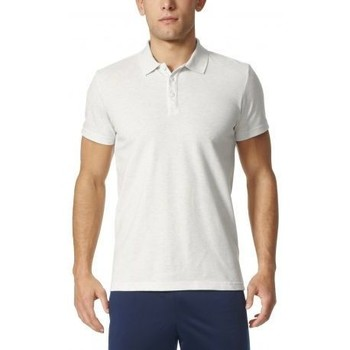 Vêtements Homme Polos manches courtes adidas Originals Polo essentials  blanc blanc