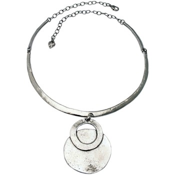 Collier Lili La Pie collier torque métal martelé collection OLYMPE
