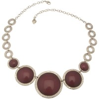 Montres & Bijoux Femme Colliers / Sautoirs Lili La Pie Collier multi Xl collection SCALLA Marron
