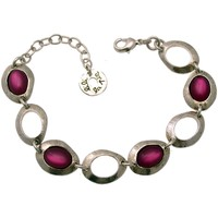 Montres & Bijoux Femme Bracelets Lili La Pie Bracelet multi Pt collection OCANA Fuschia