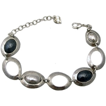 Montres & Bijoux Femme Bracelets Lili La Pie Bracelet multi M collection OCANA Gris anthracite