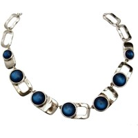 Montres & Bijoux Femme Colliers / Sautoirs Lili La Pie Collier multi collection JOY Bleu
