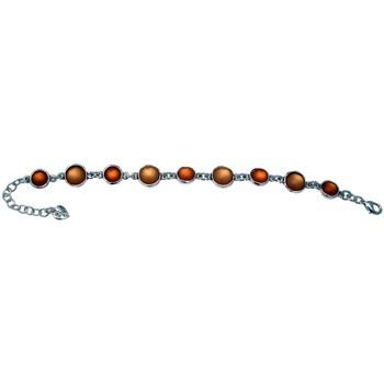 Montres & Bijoux Femme Bracelets Lili La Pie 10806 bracelet fin collection BOHEME Orange