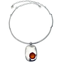Montres & Bijoux Femme Colliers / Sautoirs Lili La Pie 11629 COL 03 collier torque collection ANDREA Orange