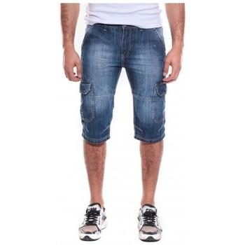 Vêtements Homme Shorts / Bermudas Ritchie BERMUDA JEAN BESSARION Bleu foncé