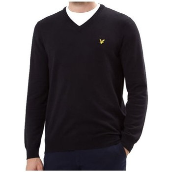 Vêtements Homme Sweats Lyle & Scott Pull col V  Noir Noir