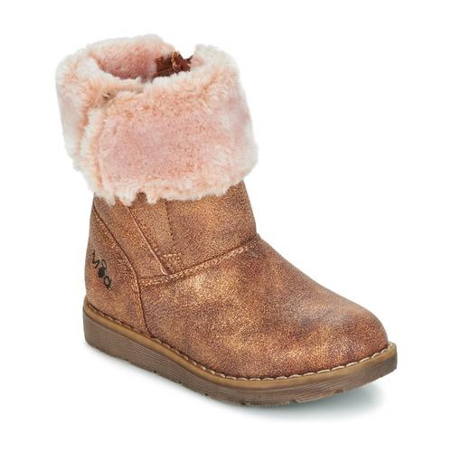 Chaussures Fille Boots Mod'8 ALTECIA Doré