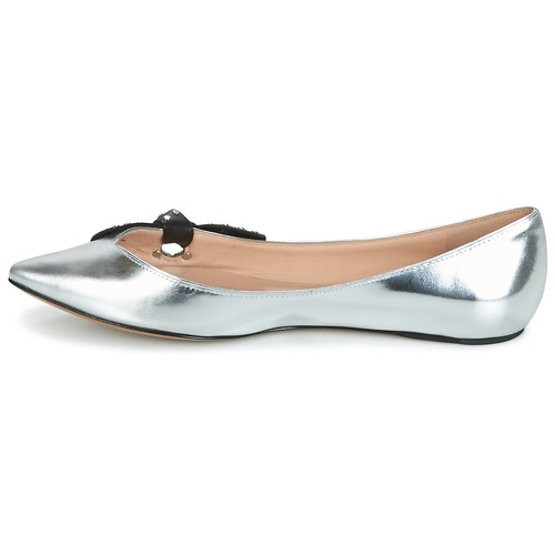 Pointy Toe BallerinesBabies Marc Femme Jacobs Argent Chaussures Rita doWxBCre