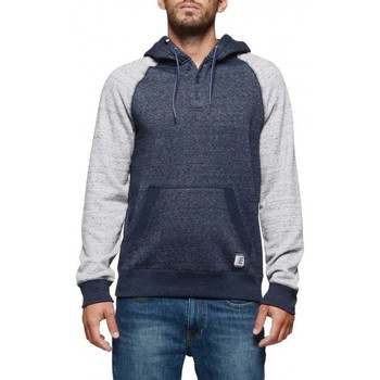 Sweat-shirt Element Sweat Meridian Henley - Indigo Grey Heather