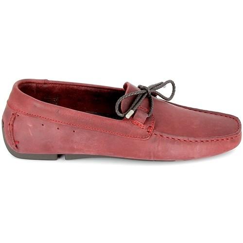 Chaussures Homme Mocassins TBS Bagnoli Bordeaux Rouge