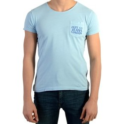 Vêtements Garçon T-shirts manches courtes Pepe jeans s Joel Azzuro Bleu