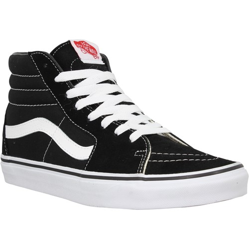 Chaussures Homme Baskets mode Vans SK8 Hi Noir Noir