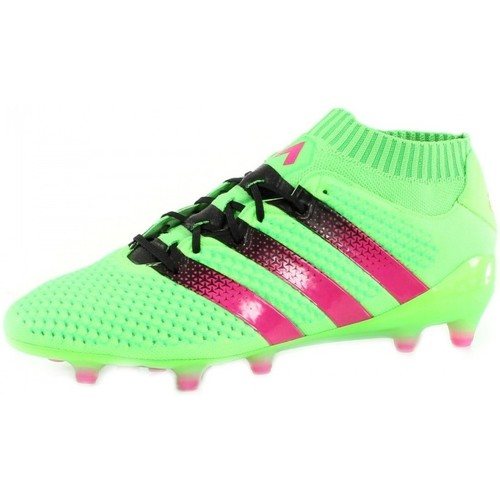 Chaussures Homme Football adidas Performance Ace 16.1 Primeknit FG/AG Vert