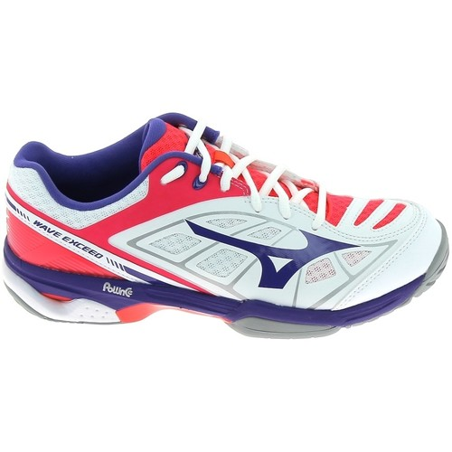 Chaussures Femme Baskets basses Mizuno Wave Exceed CC Blanc Blanc