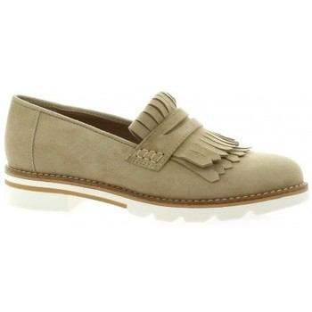 Exit Marque Mocassins Cuir Velours