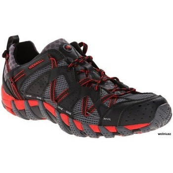 Chaussures Homme Equitation Merrell Waterpro Maipo Noir-Rouge