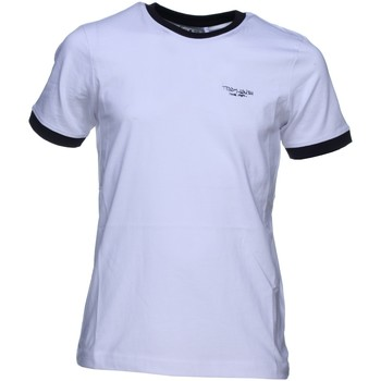 Vêtements Garçon T-shirts manches courtes Teddy Smith The-tee Mc 61005057d Blanc