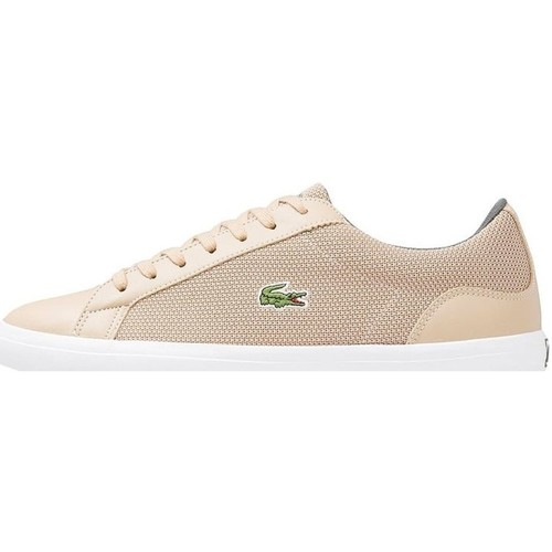 Chaussures Homme Baskets basses Lacoste Lerond 117 3 Cam Beige